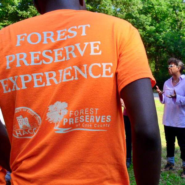 Forest Preserve Experience crew member