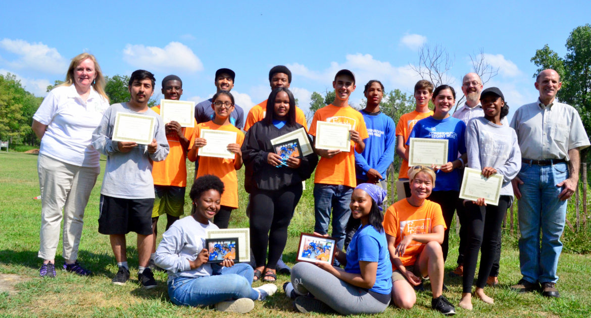 Chicago Conservation Leadership Corps program