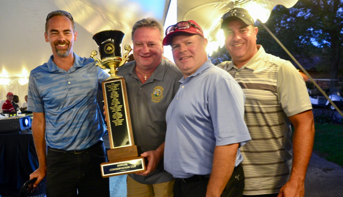 The winning foursome- Conservation Cup