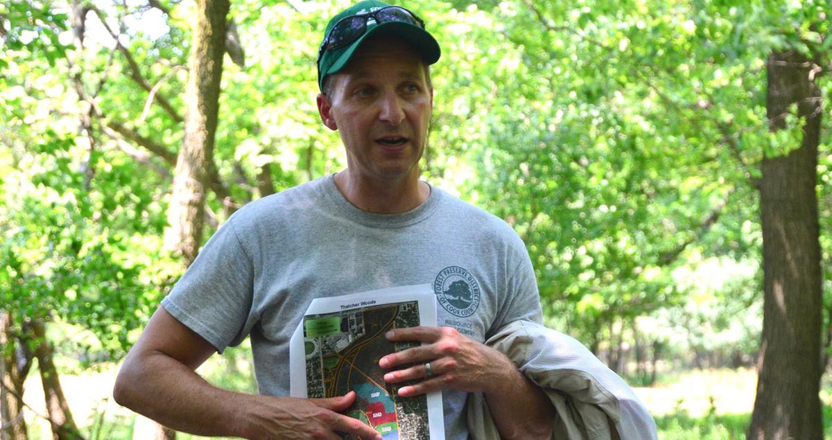 Ecologist Craig Billington