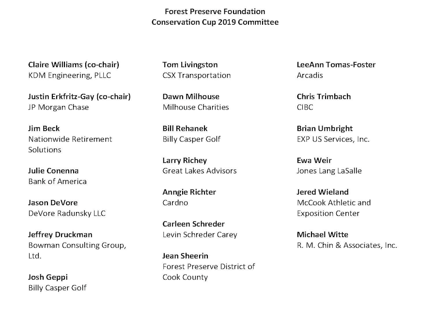 Conservation Cup Host Committee